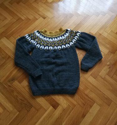 islandsk sweater herre