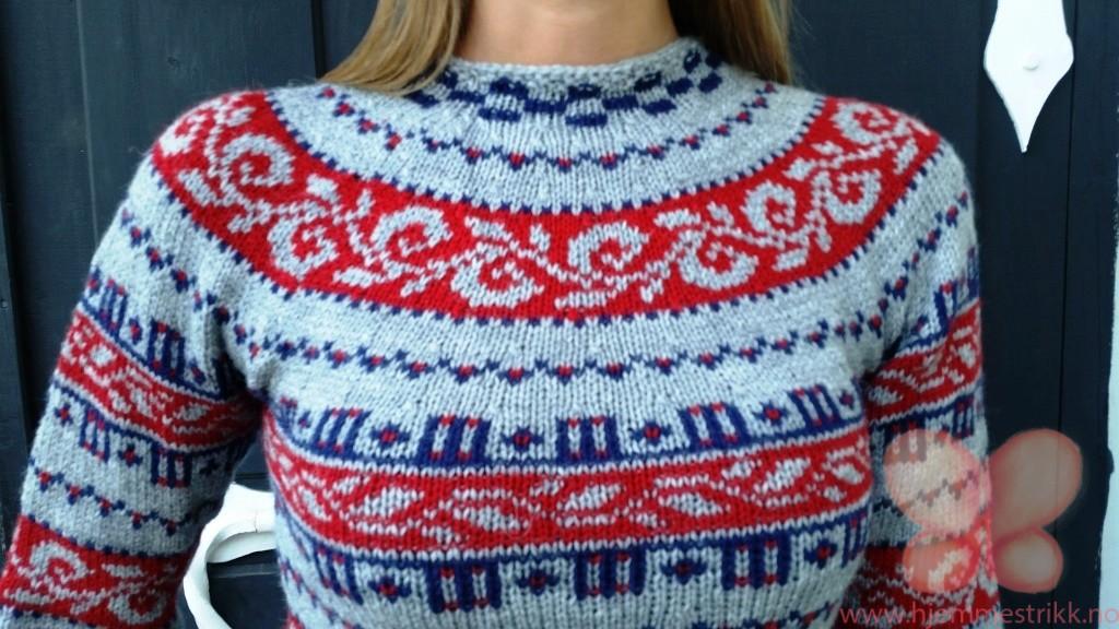 haukeli genser rød